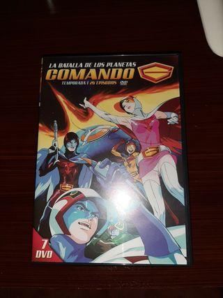 """""""Comando G"""" en DVD"""