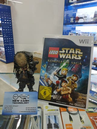 LEGO STAR WARS COMPLETE SAGA WII IMPRCABLE