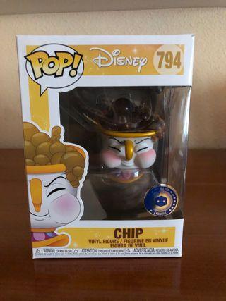 Funko Pop! Chip (La Bella y La Bestia, Disney)