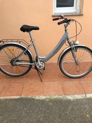 Bicicleta pedal de freno y marcha