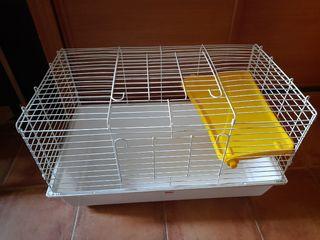 Jaula para roedores y conejos