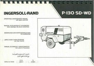 COMPRESOR AIRE INGERSOLL-RAND P130 SD/W