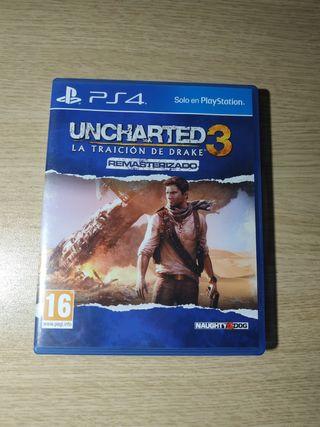 Uncharted 3: La Traición de Drake Remast (PS4)