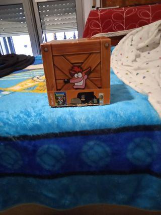 caja de Crash Bandicoot ps4 precintado