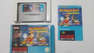 THE MAGICAL QUEST MICKEY MOUSE SUPER NINTENDO SNES