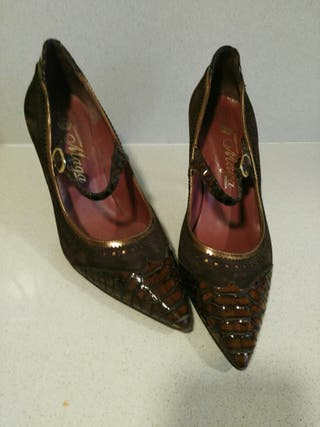 zapatos elegantes cómodos casi nuevos t 37