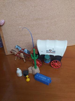 Caravana playmobil western