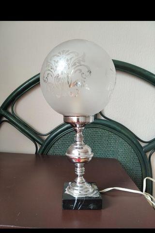 lampara vintage de mesa