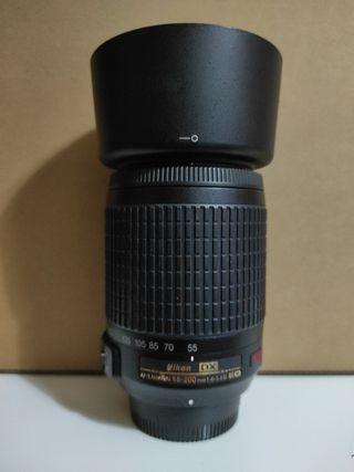 objetivo Nikon DX 55-200
