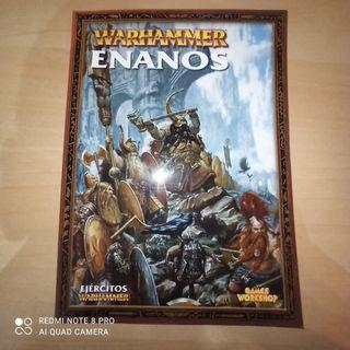 Warhammer fantasy enanos codex