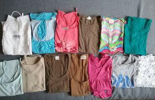 lote 13 camisetas verano mujer