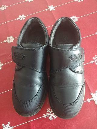 Zapatos uniforme escolar n°35