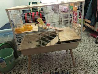 Jaula para roedores y conejos toy