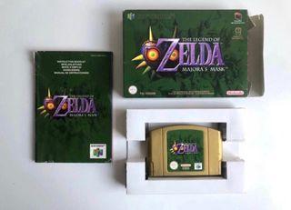 Zelda Majora's Mask de Nintendo 64 Completo