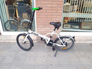 Bici eléctrica plegable nilox x1