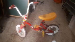antigua bici coloma y pastor