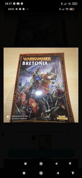 Warhammer fantasy bretonia libro