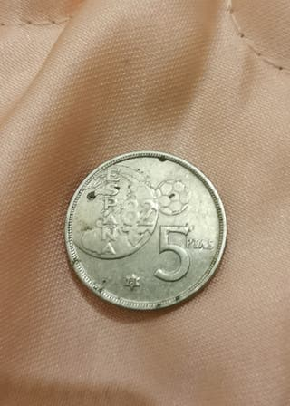 5 pesetas 1980
