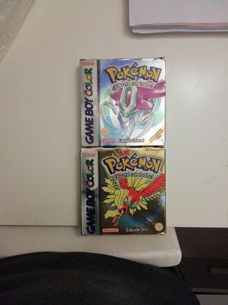 pack Cajas Pokémon Oro y Cristal