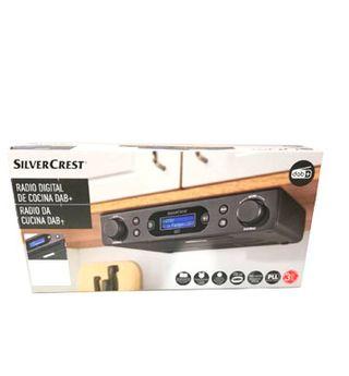 Radio digital de cocina Silvercrest plus