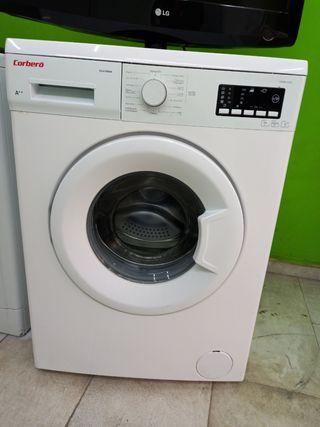lavadora marca corbero de 6kg rpm 1200