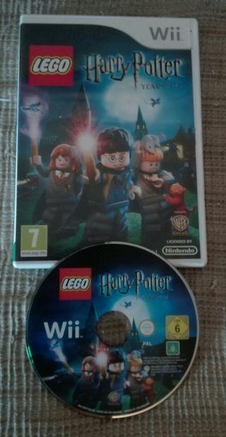 LEGO HARRY POTTER AÑOS 1-4 WII
