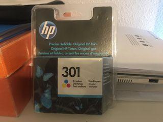 Cartucho de tinta tricolor HP 301