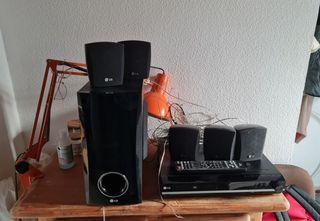 Sistema Home Cinema Reproductor 5.1