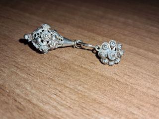 pendientes de plata antiguas
