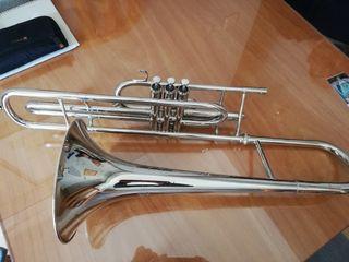 trombon de pistones en Do
