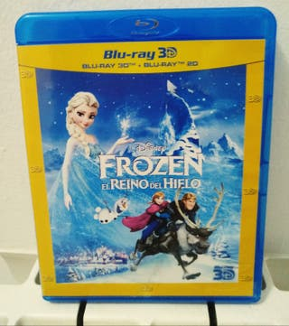 Frozen Bluray + 3D