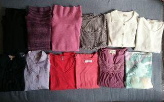 lote 12 jerseys mujer talla L