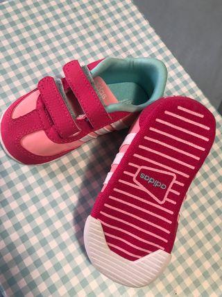 Zapatillas, bamba ADIDASniña T19
