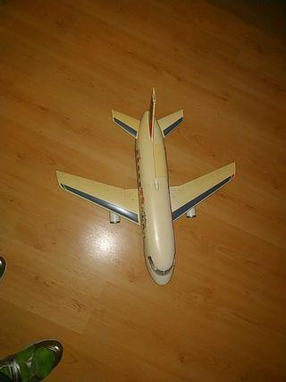 super avión playmobil,muy grande