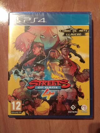 Streets of Rage 4 para PS4