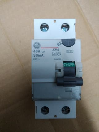 Diferencial General Electric FPA 40A 30mA.