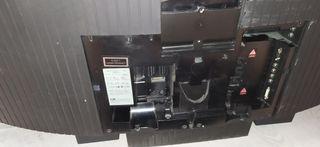 pantalla tv laser