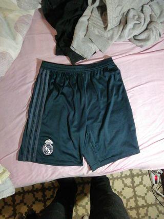 pantalón corto chandal Adidas Real madrid L niño