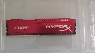 Memoria RAM 8GB 3200MHz HyperX Fury