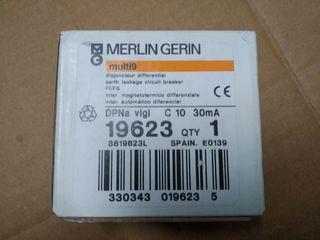 diferencial merlin Gerin DPNa Vigi 10A 30mA.