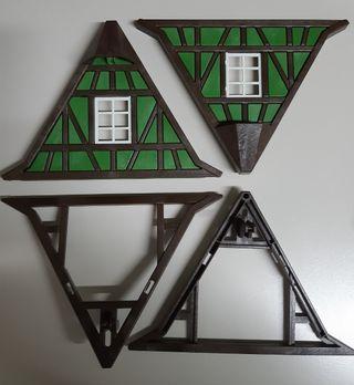 Laterales tejado medieval