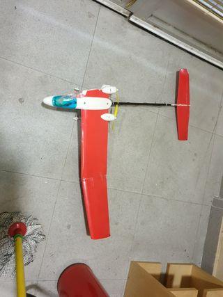 Avión rc para piezas