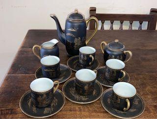 Antiguo juego de porcelana china