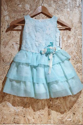 nuevo etiquetas vestido niña edición limitada