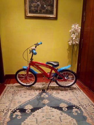 bici para niño niña de Paw Payrol