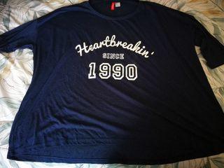 Camiseta H&M 1990