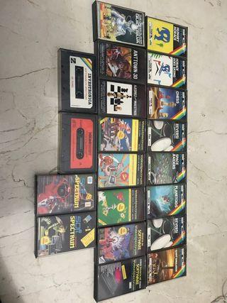 Lote de juegos de spectrum