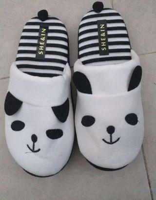 zapatillas de estar por casa de shein
