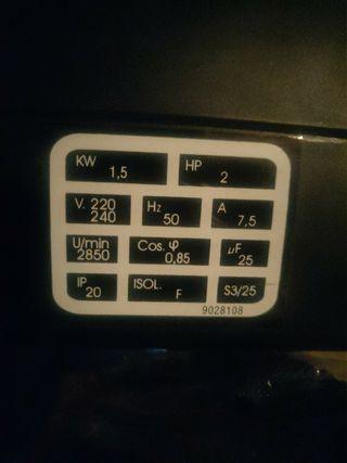 Compresor Abac 24 2HP
