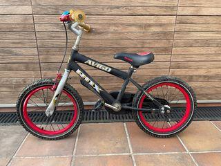 Bicicleta niño(a)16''